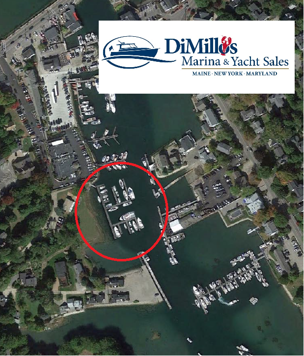 Kennebunk Aerial with Logo